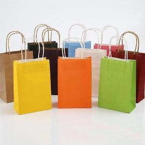 Her türlü ebat ve renkte kağıt, kraft çanta PAKkoli'de