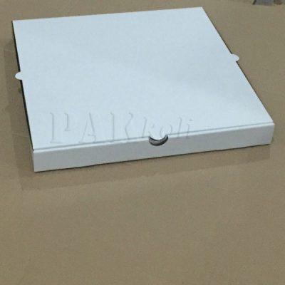 38 cm lik beyaz pizza kutusu