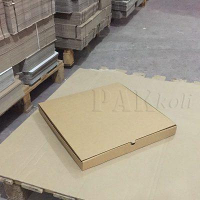 duvar saati kutusu, 45 cm lik pizza kutusu
