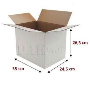 beyaz karton kutu